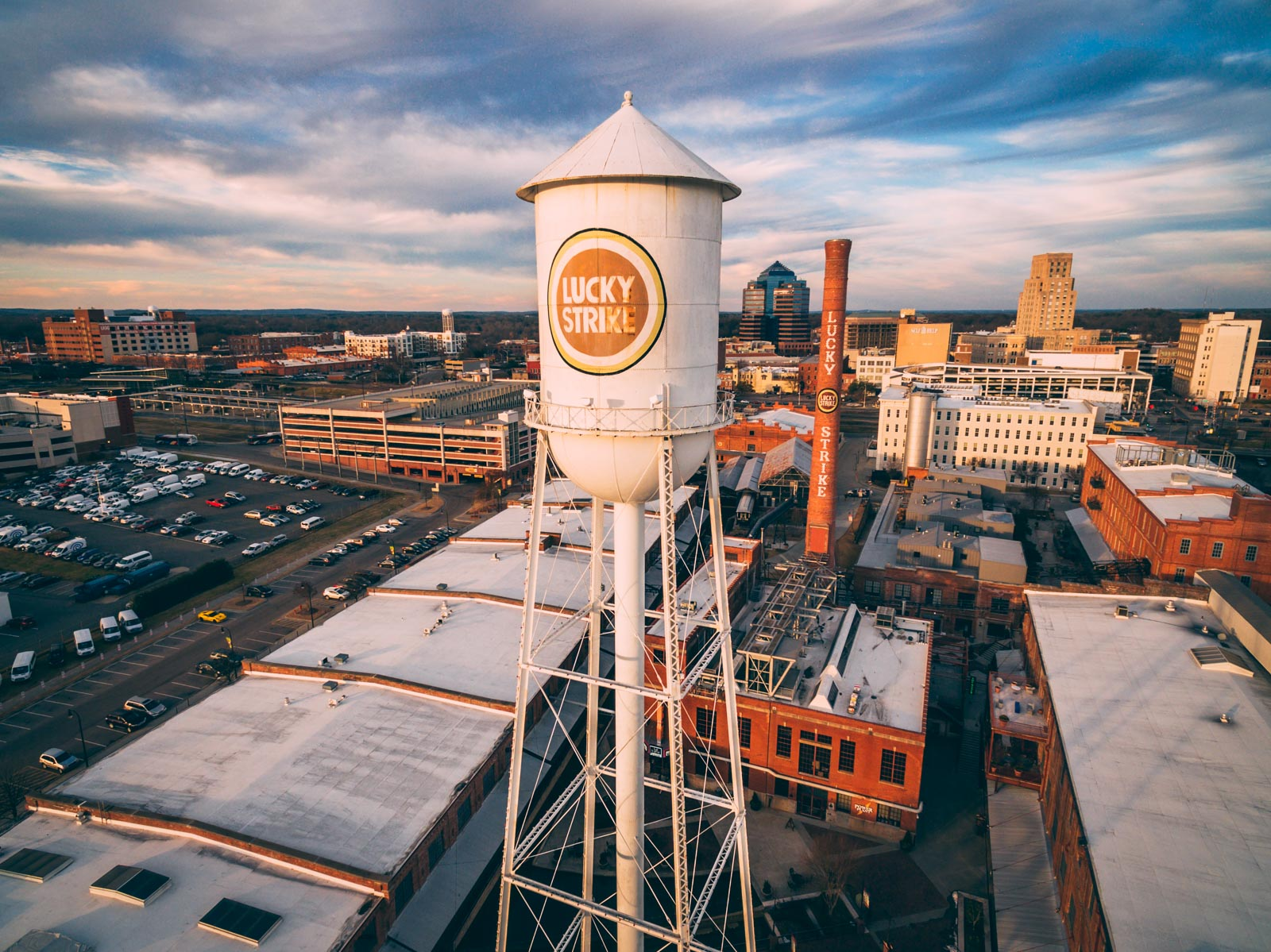 Lucky Strike water tower